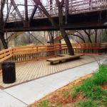 WBT west end under bridge